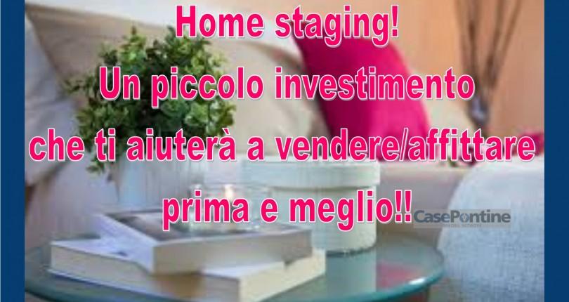 E' il momento, adeguati anche tu!!  Il mercato immobiliare è cambiato! Scopri l'Home Stager – Home Staging